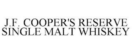 J.F. COOPER'S RESERVE SINGLE MALT WHISKEY