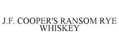 J.F. COOPER'S RANSOM RYE WHISKEY
