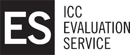 ES ICC EVALUATION SERVICE