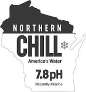 NORTHERN CHILL AMERICA'S WATER 7.8 PH NATURALLY ALKALINE