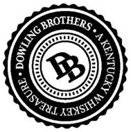 DOWLING BROTHERS DB A KENTUCKY WHISKEY TREASURE
