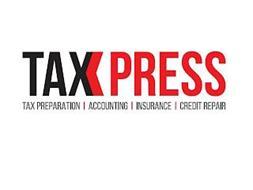 TAXXPRESS TAX PREPARATION ACCOUNTING INSURANCE CREDIT REPAIR