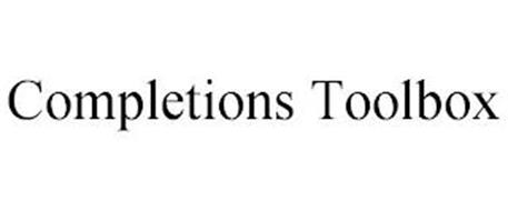 COMPLETIONS TOOLBOX