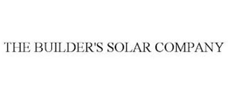 THE BUILDER'S SOLAR COMPANY