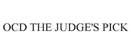 OCD THE JUDGE'S PICK
