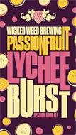 WICKED WEED BREWING PASSIONFRUIT LYCHEEBURST