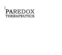 PAREDOX THERAPEUTICS