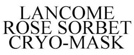 LANCOME ROSE SORBET CRYO-MASK