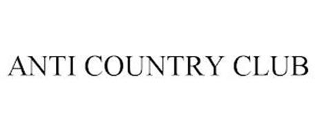 ANTI COUNTRY CLUB