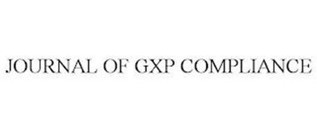 JOURNAL OF GXP COMPLIANCE