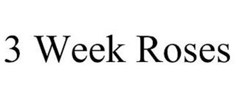 3 WEEK ROSES
