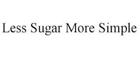 LESS SUGAR MORE SIMPLE