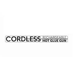 CORDLESS RECHARGEABLE HOT GLUE GUN