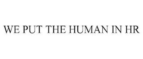 WE PUT THE HUMAN IN HR