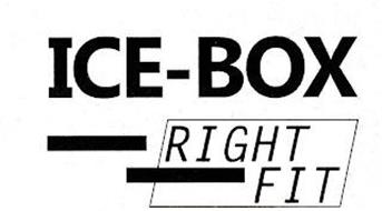 ICE-BOX RIGHT FIT