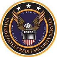 UNITED STATES CREDIT SECURITY SERVICE DEDICATION COMMITMENT INTEGRITY USCSS