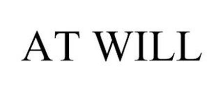AT WILL