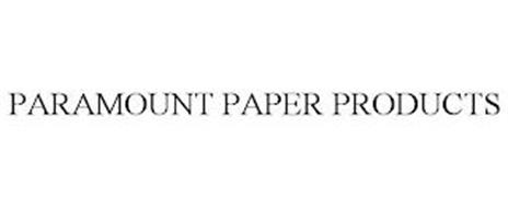 PARAMOUNT PAPER PRODUCTS
