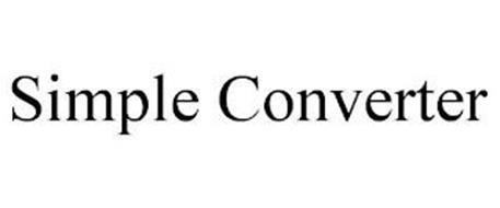 SIMPLE CONVERTER