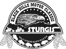 BLACK HILLS MOTOR CLASSIC STURGIS RALLY& RACES BLACK HILLS S.D.