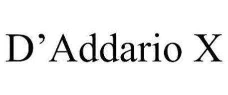 D'ADDARIO X