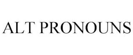 ALT PRONOUNS