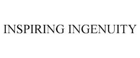 INSPIRING INGENUITY