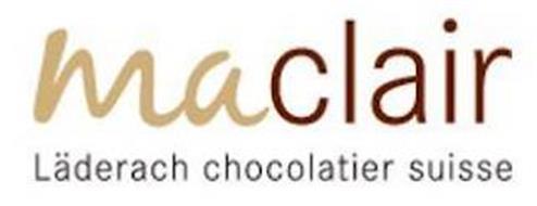MACLAIR LÄDERACH CHOCOLATIER SUISSE
