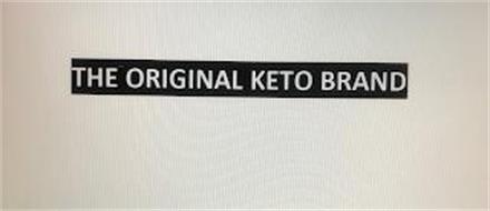 THE ORIGINAL KETO BRAND