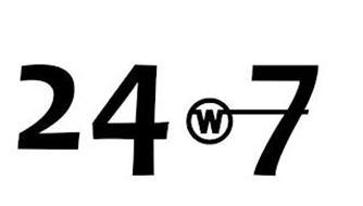 24 W 7