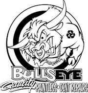 BULLSEYE QUALITY PAINTLESS·DENT REPAIRS