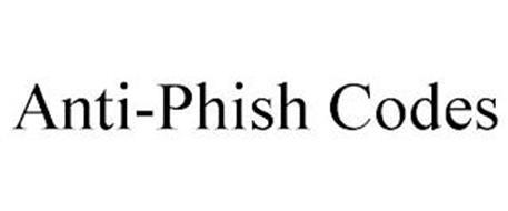 ANTI-PHISH CODES