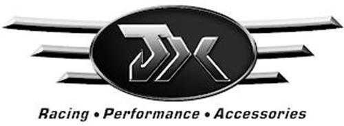 JX RACING · PERFORMANCE · ACCESSORIES