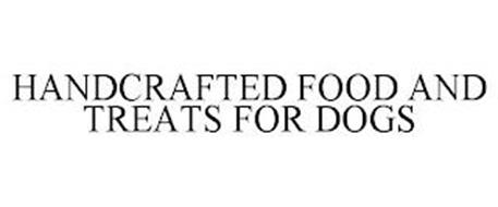 HANDCRAFTED FOOD AND TREATS FOR DOGS