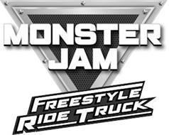 MONSTER JAM FREESTYLE RIDE TRUCK
