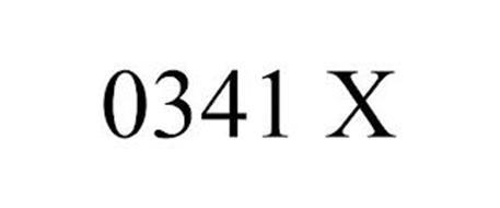 0341 X