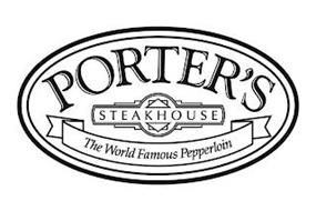 PORTER'S STEAKHOUSE THE WORLD FAMOUS PEPPERLOIN