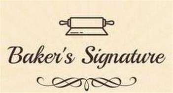 BAKER'S SIGNATURE