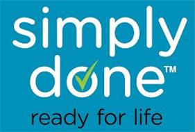 SIMPLY DONE READY FOR LIFE
