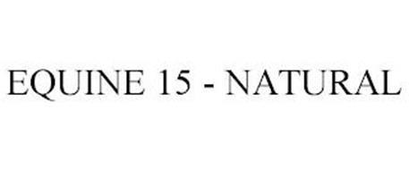 EQUINE 15 - NATURAL