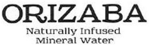 ORIZABA NATURALLY INFUSED MINERAL WATER