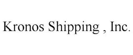 KRONOS SHIPPING , INC.
