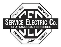 SERVICE ELECTRIC CO. CHATTANOOGA, TENNESSEE SEC POWER LINES SUBSTATIONS ENERGIZED TECHNICAL