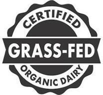 CERTIFIED GRASS-FED ORGANIC DAIRY