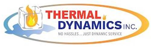 THERMAL DYNAMICS INC. NO HASSLES... JUST DYNAMIC SERVICE