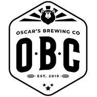 OSCAR'S BREWING CO O B C EST. 2019