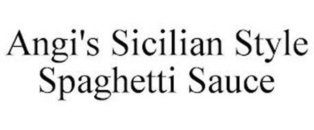 ANGI'S SICILIAN STYLE SPAGHETTI SAUCE