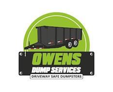 OWENS DUMP SERVICES DRIVEWAY SAFE DUMPSTERS