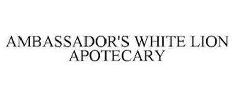 AMBASSADOR'S WHITE LION APOTHECARY