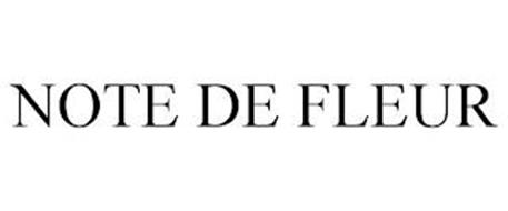 NOTE DE FLEUR